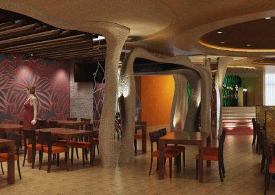 Дизайн ресторана «Остров»